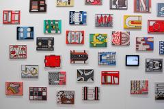 Allard-Budding-Diverse-werken-30x40cm-Houtskool-en-acrylverf-op-canvas