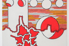 Allard-Budding-Zonder-Titel-55x65cm-Houtskool-en-acrylverf-op-canvas